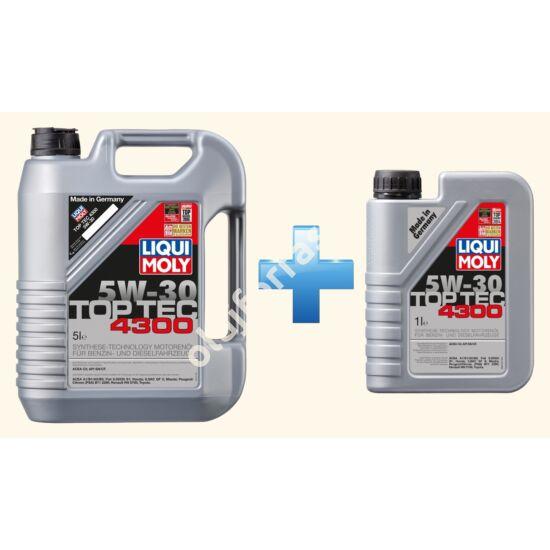 Liqui Moly Top Tec 4300 5W-30 6L (5+1L)