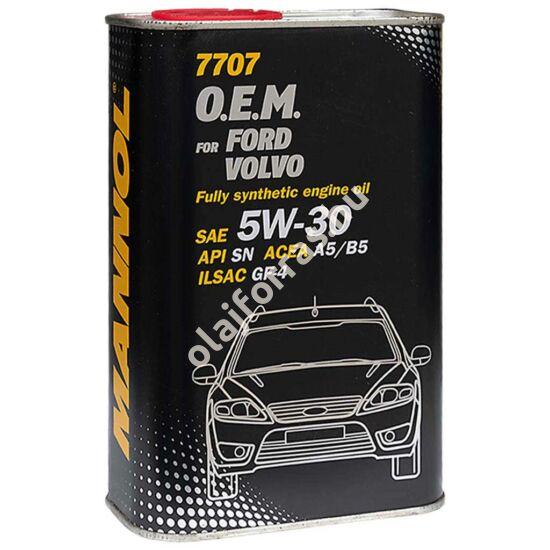 Mannol 7707 O.E.M. for Ford Volvo 5W-30 1L (fém dobozos)