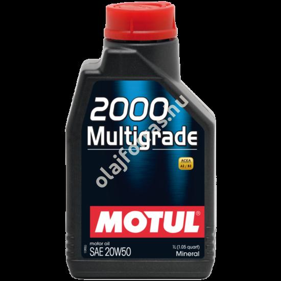MOTUL 2000 Multigrade 20W-50 1L