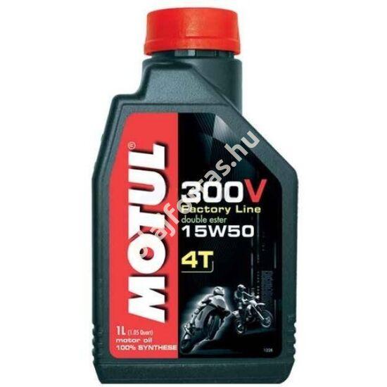 MOTUL 300V 4T FACTORY LINE 15W-50 1L