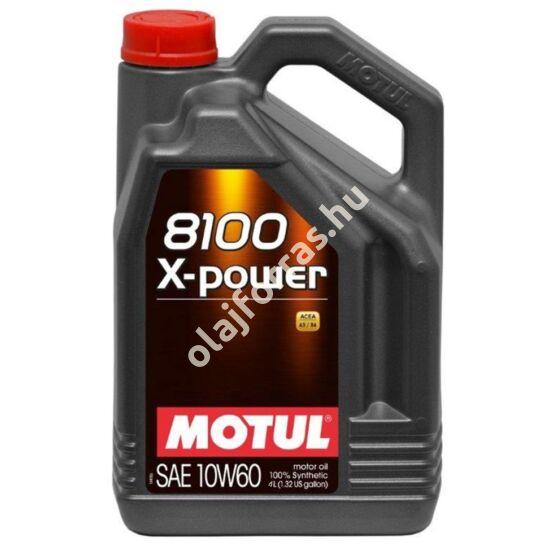 MOTUL 8100 X-Power 10W-60 4L