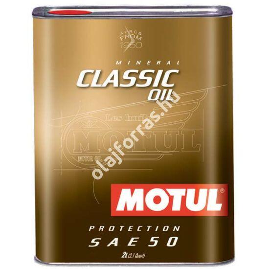 MOTUL Classic Oil SAE50 2L