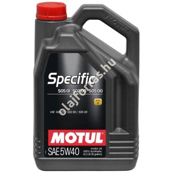 MOTUL SPECIFIC VW 505.01 - 502.00 – 505.00 5W-40 5L