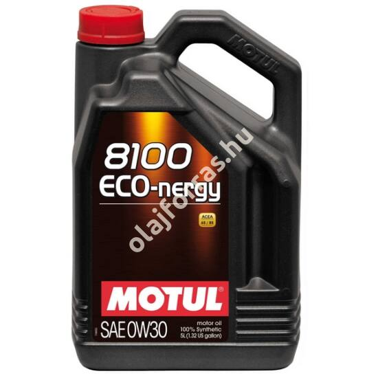 Motul 8100 Eco-nergy 0W-30 5L