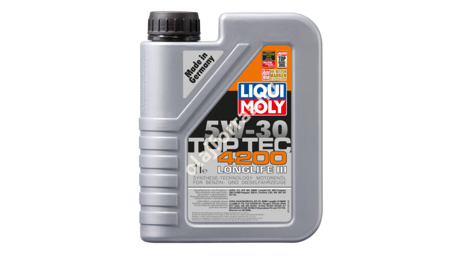 liqui moly top tec 4200 5w 30 1l 5w 30. Black Bedroom Furniture Sets. Home Design Ideas